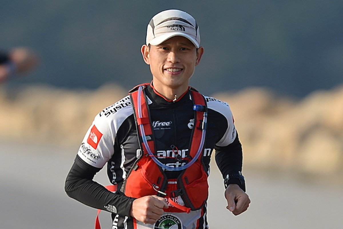 Stone Tsang Siu-keung is one of Hong Kong's top runners, but this is his first time representing his country. Photo: Lao Yao