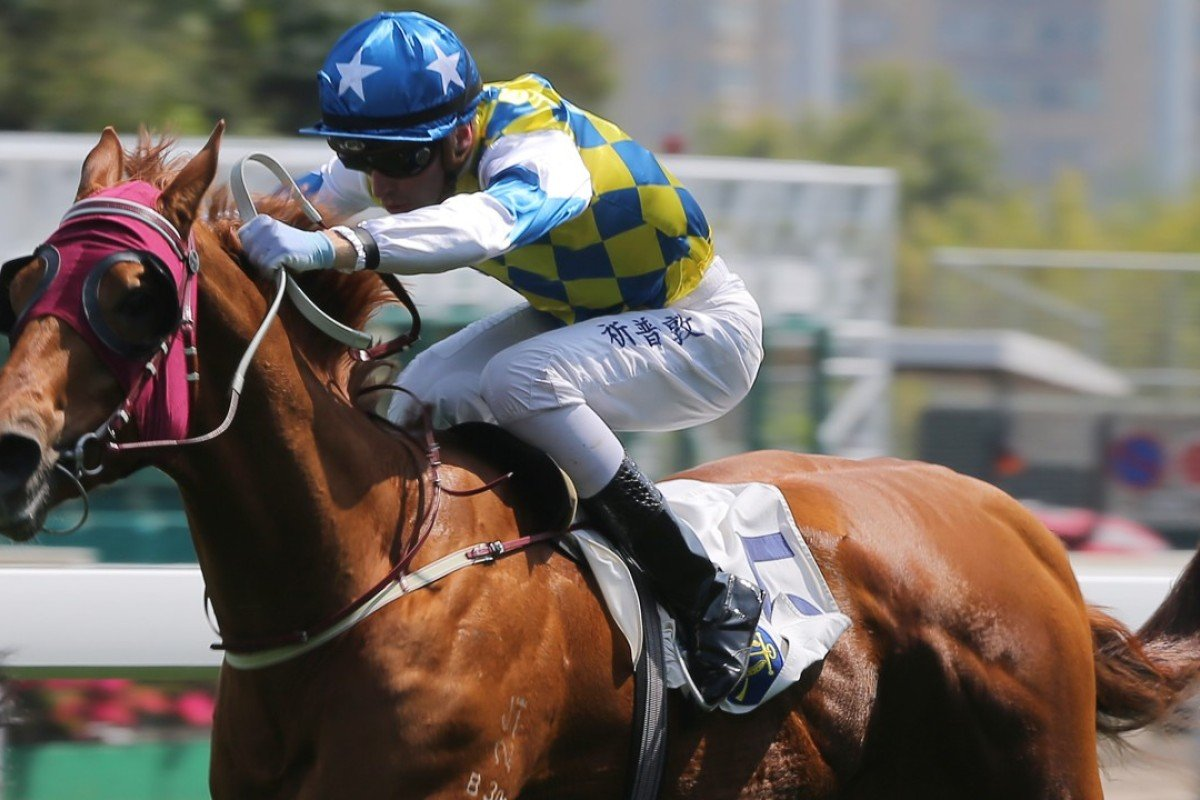 Sam Clipperton drives Solar Patch to victory at Sha Tin in April. Photos: Kenneth Chan