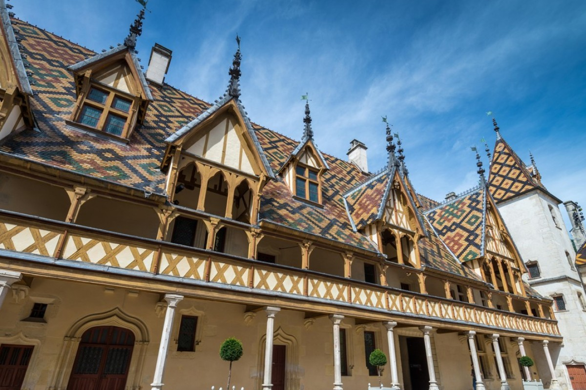 The Hospices de Beaune, in Burgundy, France. Picture: Alamy