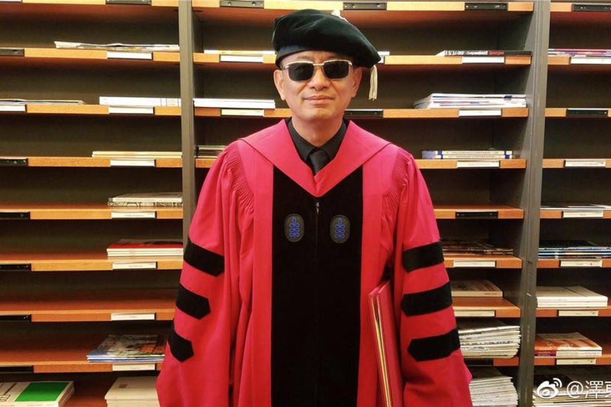 Hong Kong's Wong Kar-wai was one of seven international professionals to receive honorary degrees from Harvard University.