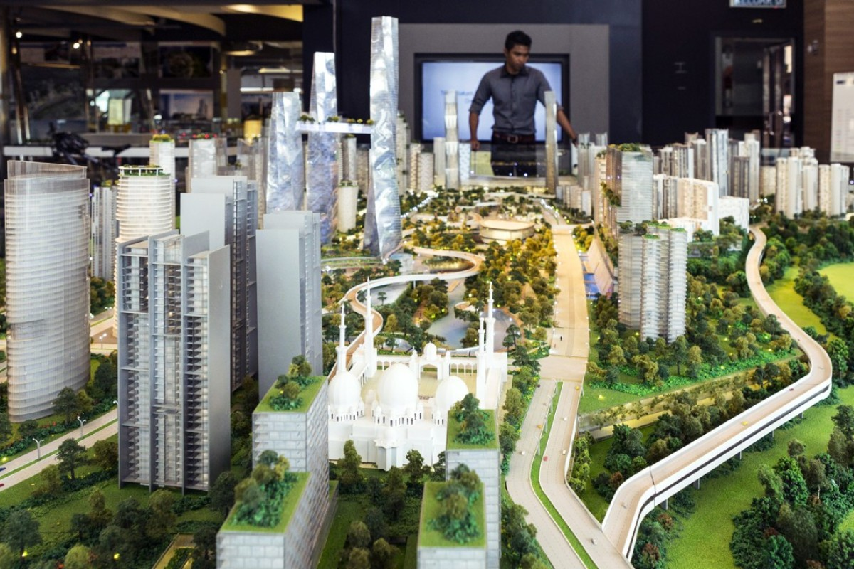 The Bandar Malaysia development was supposed to host terminals for the high-speed rail line connecting Kuala Lumpur to Singapore. Photo: Bloomberg