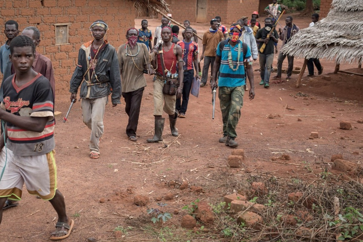 Anti-Balaka fighters in Central African Republic. Photo: AFP