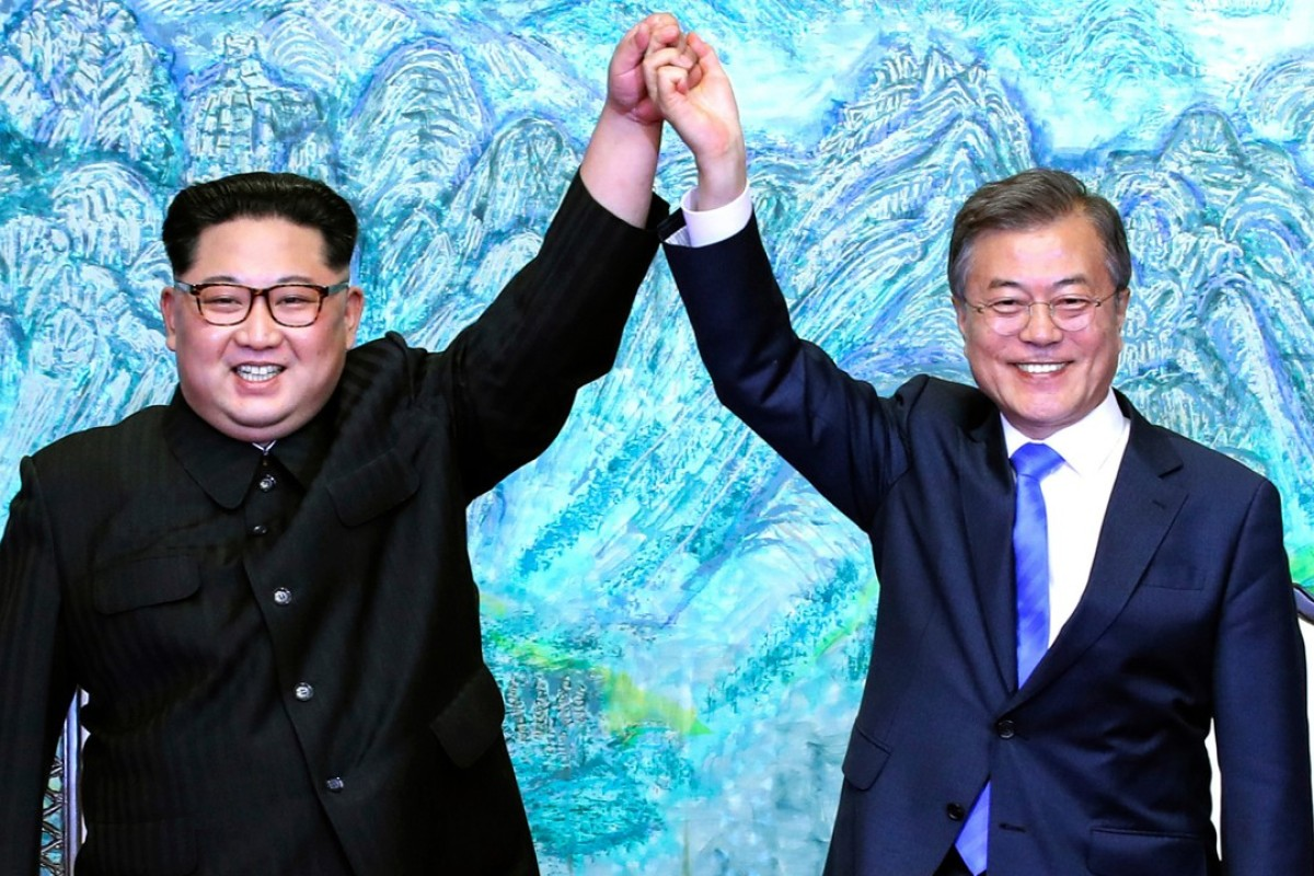 Has the spring of rapprochement turned to a summer of discontent for Kim Jong-un and Moon Jae-in? Photo: AP