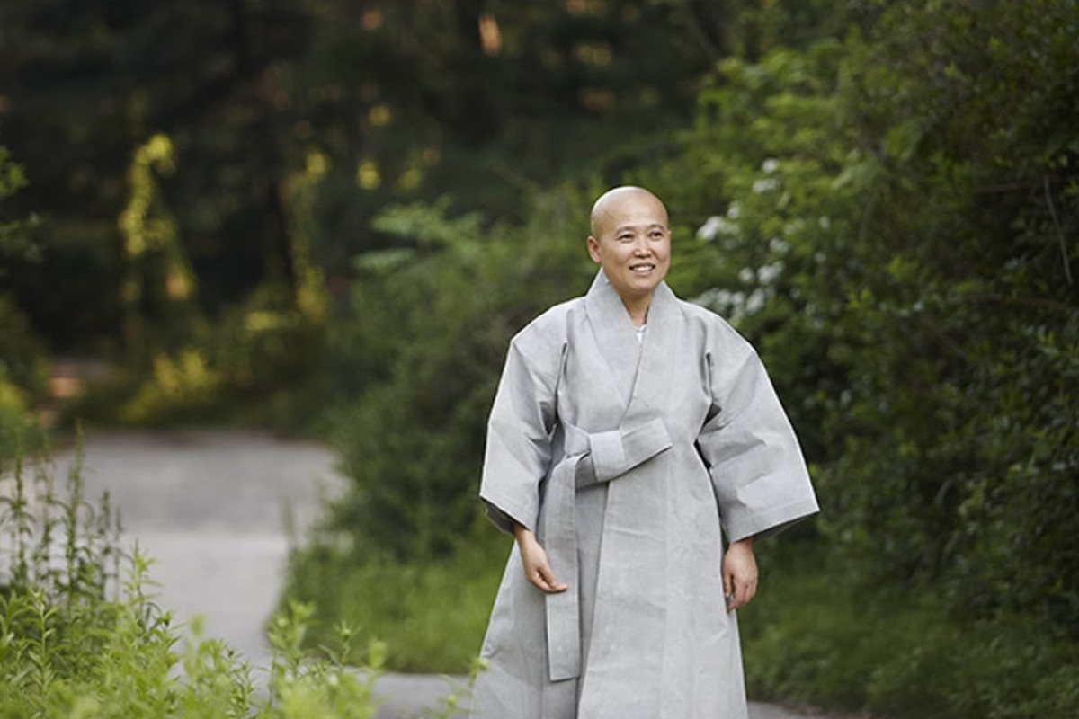 Buddhist nun Wookwan says 'eating is not just about filling the stomach'. Photo: Wookwan