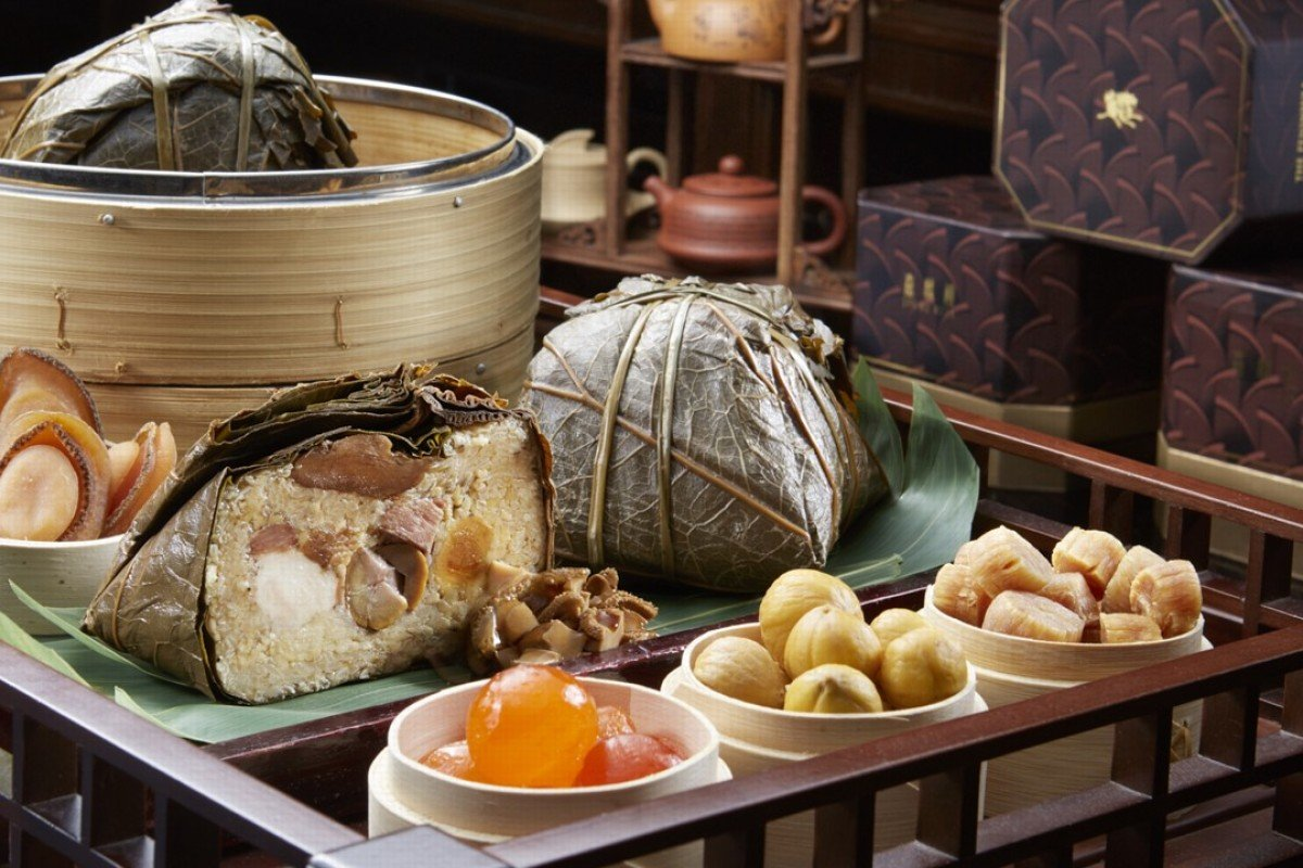 The Peninsula Hong Kong's premium glutinous rice dumplings and deluxe glutinous rice dumplings, which are among our pick of the best luxury dumplings on offer in Hong Kong.