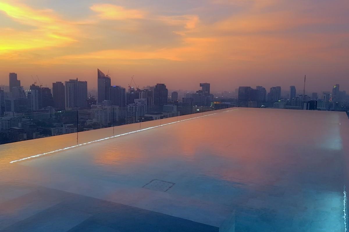The rooftop pool at 137 Pillars Bangkok boasts amazing views. Photos: Cedric Tan
