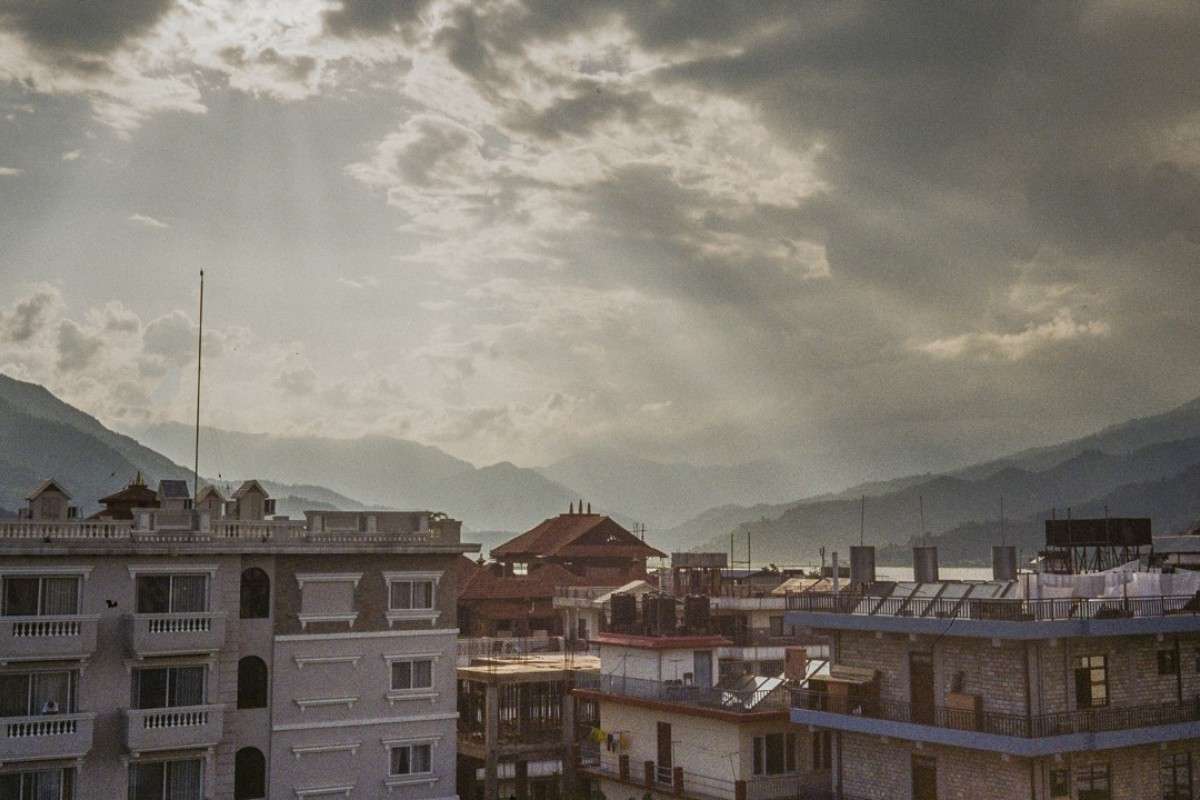 Rooftops in Pokhara, Nepal. Pictures: Mercedes Hutton