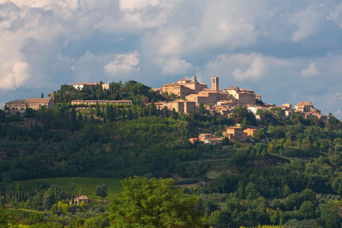 The town of Montepulciano, in the Tuscany region of Italy. Picture: Alamy