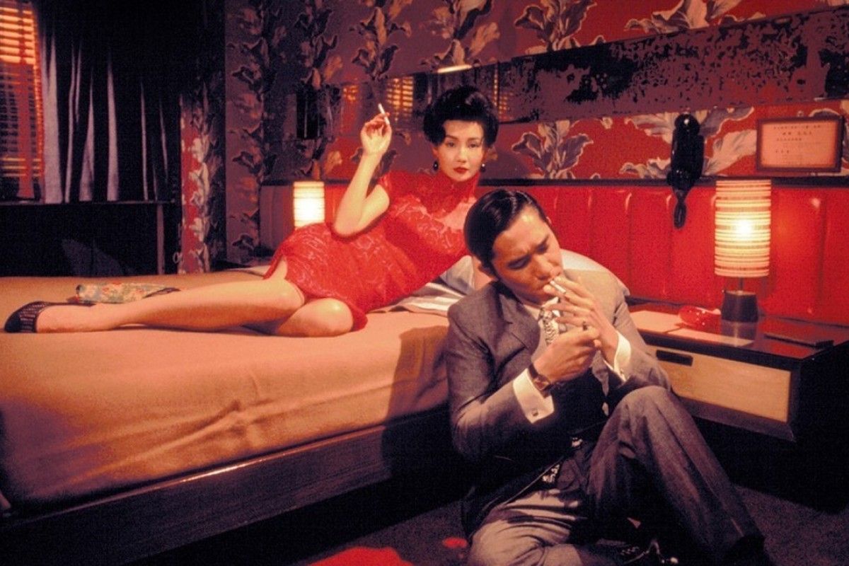 Maggie Cheung and Tony Leung in a scene from In the Mood for Love.