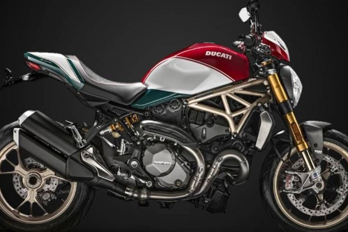 Monster 1200 25th Anniversario by Ducati. Photo: Instagram