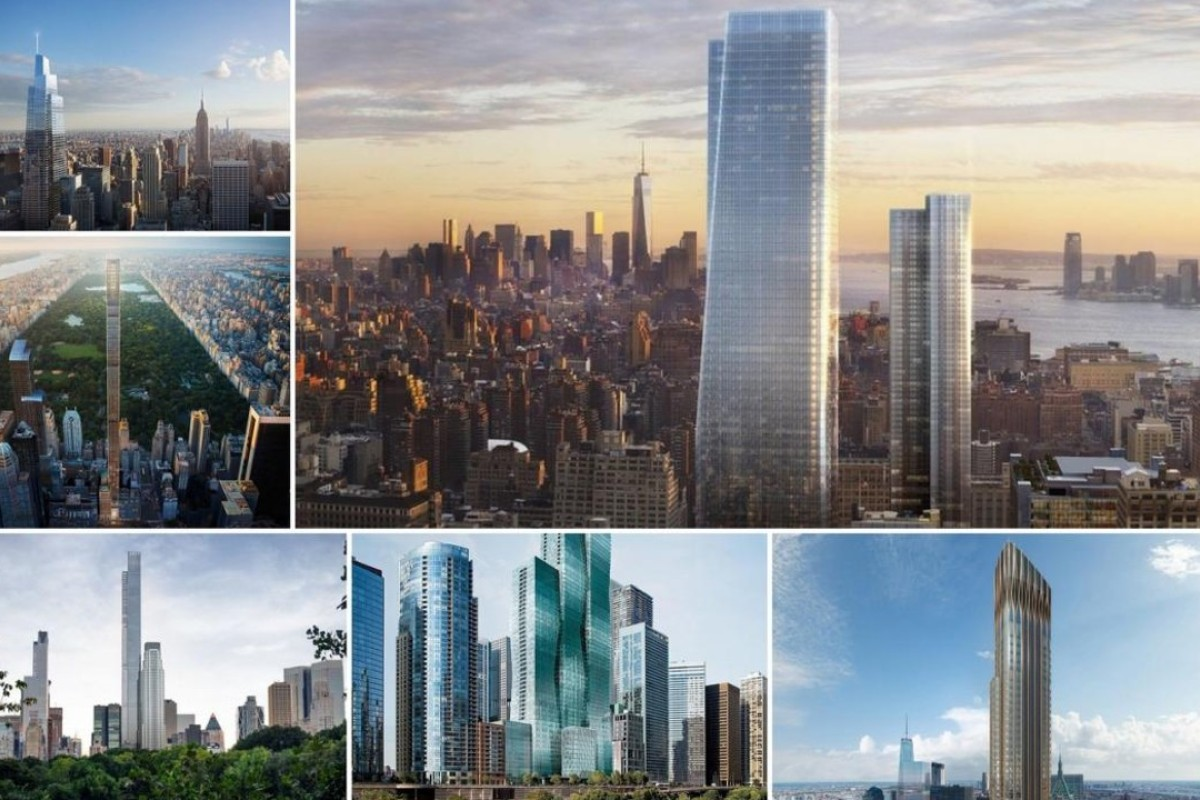 Six skyscrapers under construction in New York City will change the face of the city.