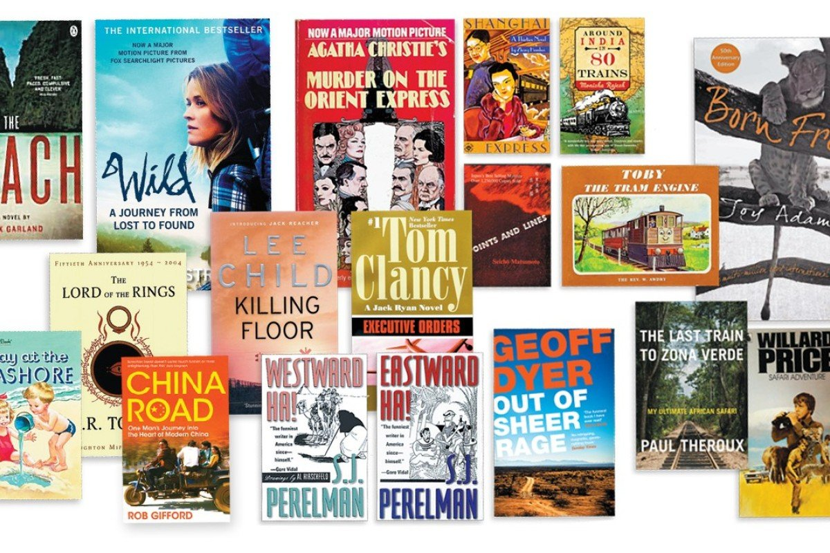 Just some of the titles that will help whisk you away while on holiday.