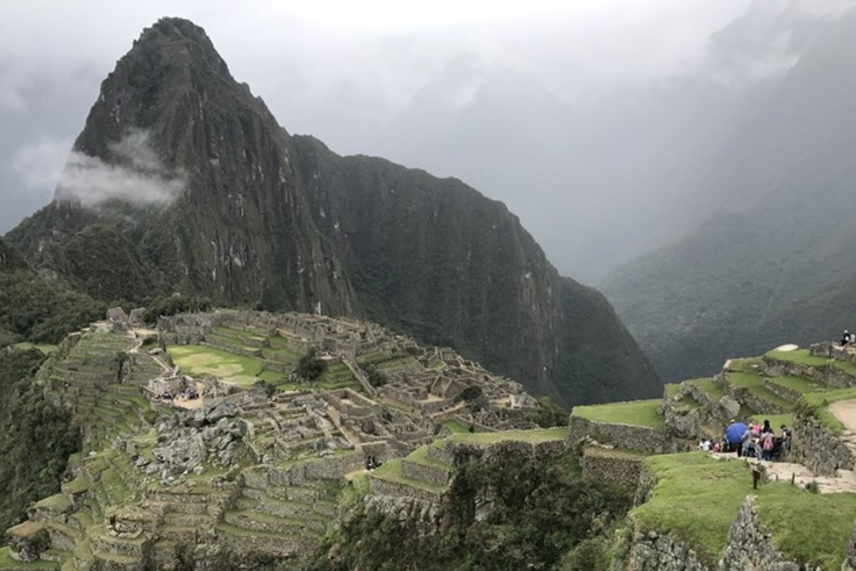 A snap I took while standing at Machu Picchu last year. Photos: Ben Gilbert/Business Insider