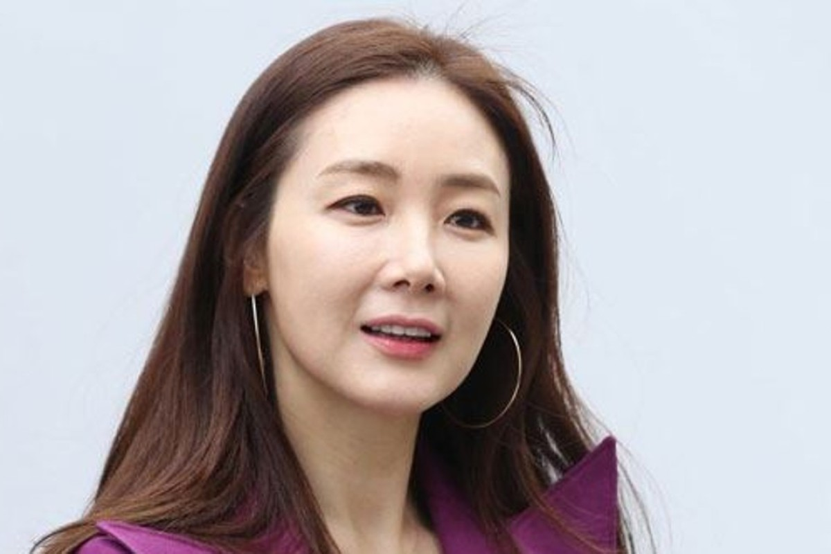 South Korean actress Choi Ji-woo, who has complained about the release of her husband's personal information by the Korean media agency, Dispatch. Photo: Yonhap