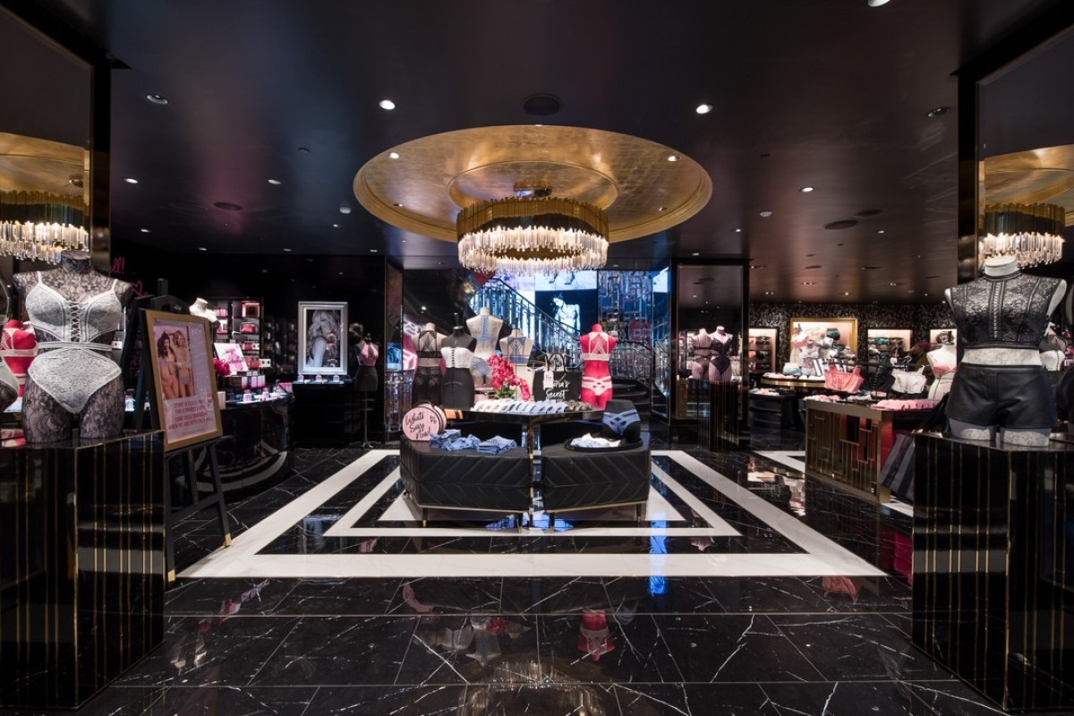 The ground floor of Victoria's Secret's new flagship store in Causeway Bay, Hong Kong