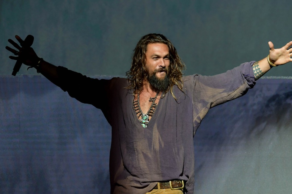 Jason Momoa Speaks During Comic Con International 2018 In San Diego California On July