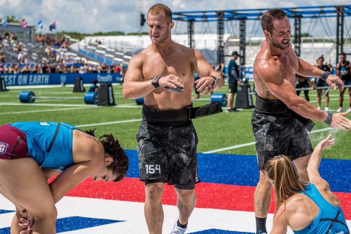 Team CrossFit Mayhem Sit Atop The Leader Board Photos Twitter CrossFitGames