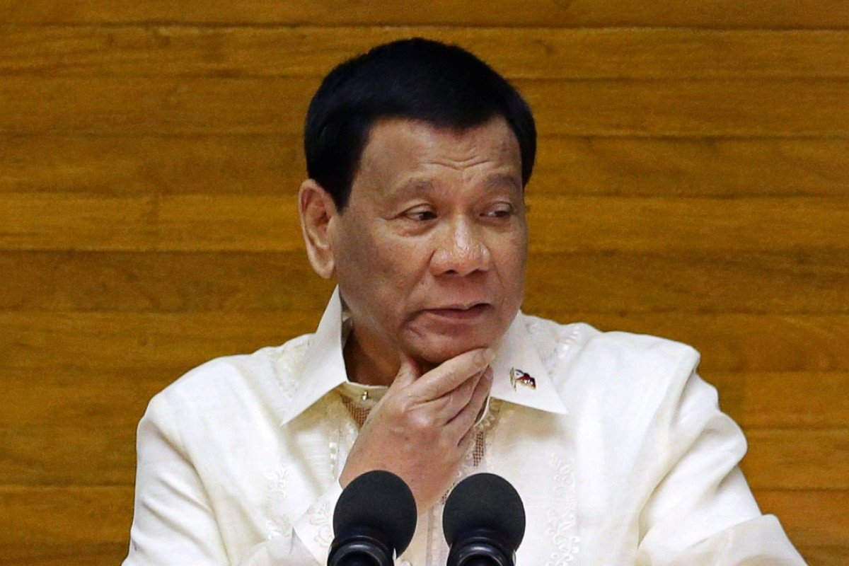 Président philippin Rodrigo Duterte. Photo: Reuters