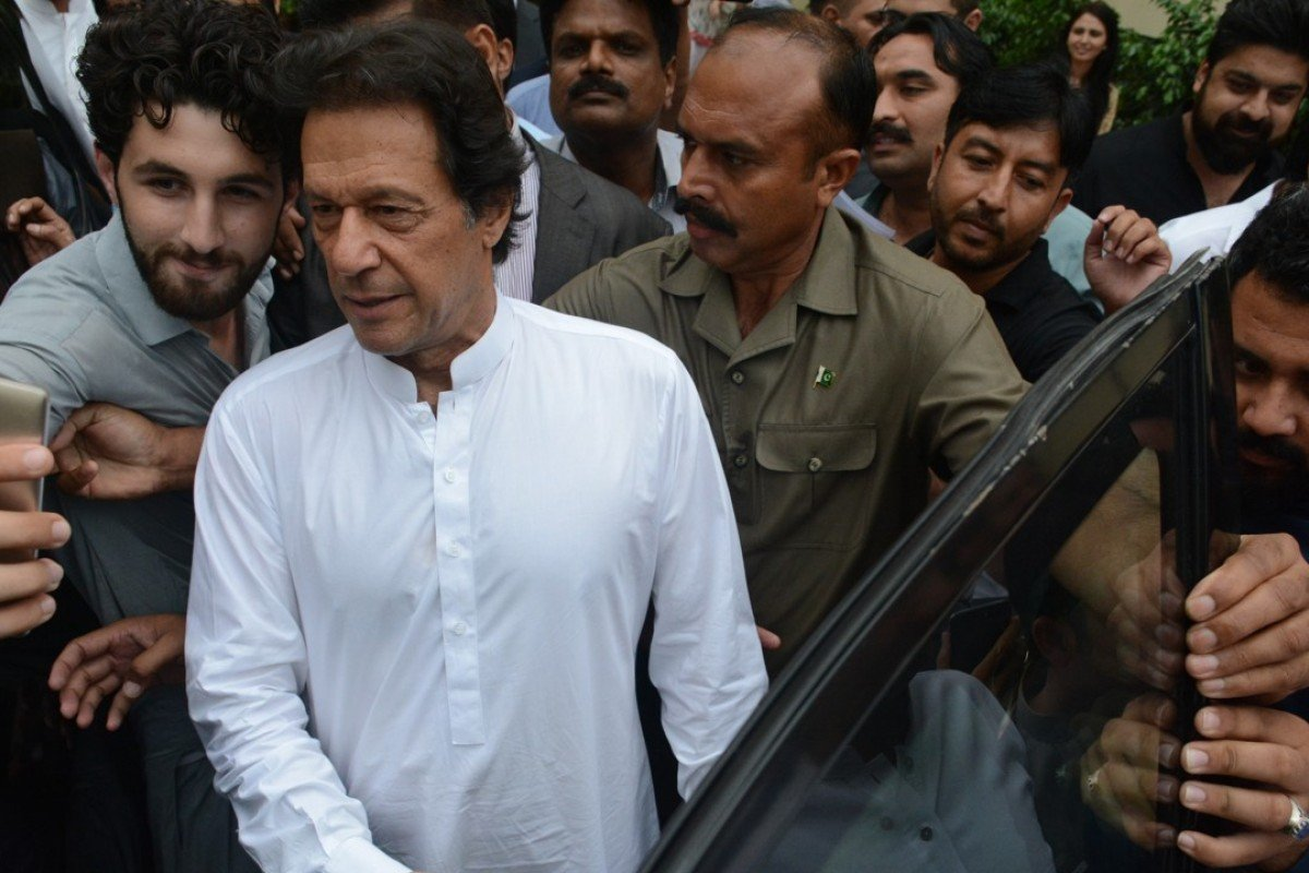 Pakistan's Prime Minister-elect Imran Khan wants to plant 10 billion trees to reverse the effects of extreme weather. Photo: EPA