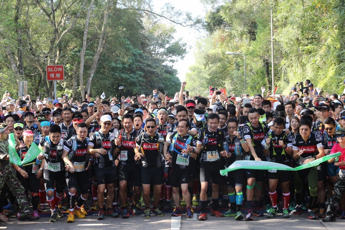 Thousands take part in the Oxfam Trailwalker, just one indication of the popularity of trail running in Hong Kong.
