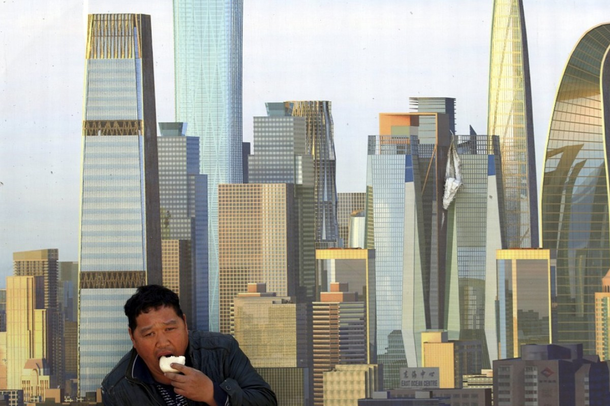 China has all the gleaming new business districts it is likely to need for decades to come. Photo: Reuters