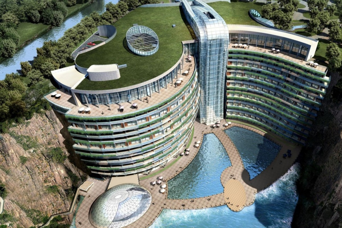 It's the pits: with only two floors above ground and 16 below, the InterContinental Shanghai Wonderland will offer a truly unique hotel experience when it opens later this year.