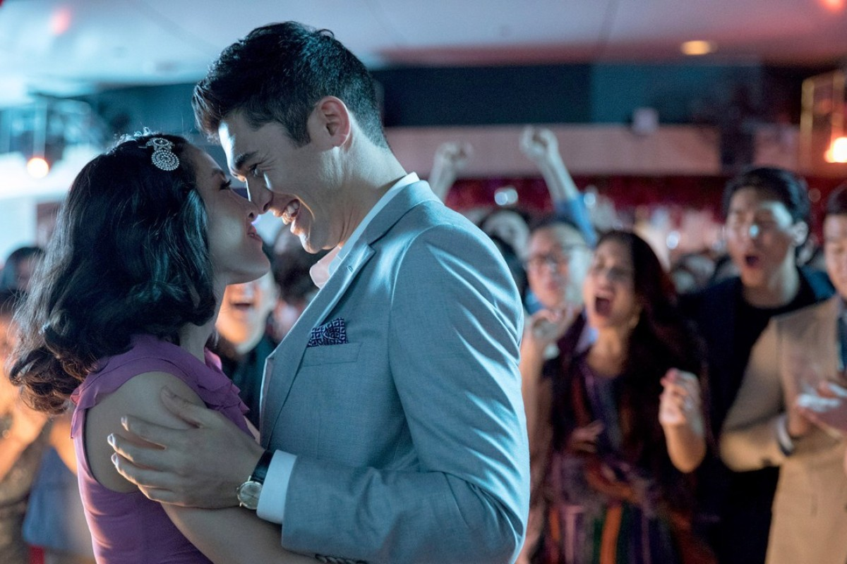 Constance Wu stars as Rachel and Henry Golding as Nick in 'Crazy Rich Asians'. Photo: Sanja Bucko/Warner Bros. Pictures
