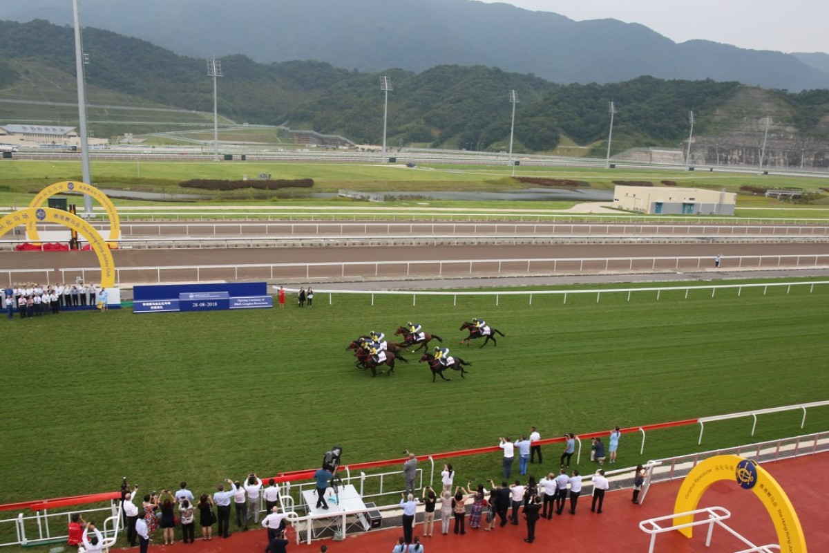 The opening ceremony of Conghua Racecourse. Photos: Kenneth Chan