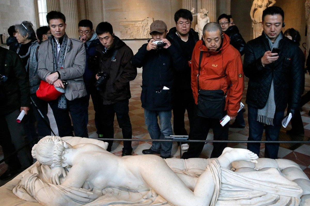 The Louvre Museum is included in most tour-group itineraries, but Chinese visitors to Paris are increasingly seeking out lesser known galleries in the French capital. Picture: Alamy