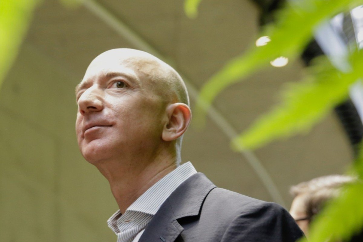 Jeff Bezos, founder and CEO of e-commerce giant Amazon, is ranked as the world's richest person , whose estimated net worth is about US$166 billion, according to 'Forbes' magazine. Photo: AFP