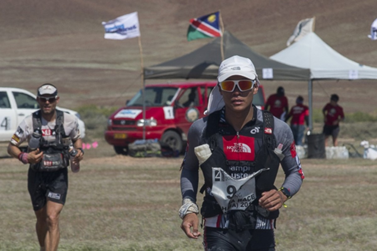 Wong Ho-chung battles Vincente Juan Garcia Beneito in Namibia and takes revenge by winning in the Gobi. Photo: Sakasphoto