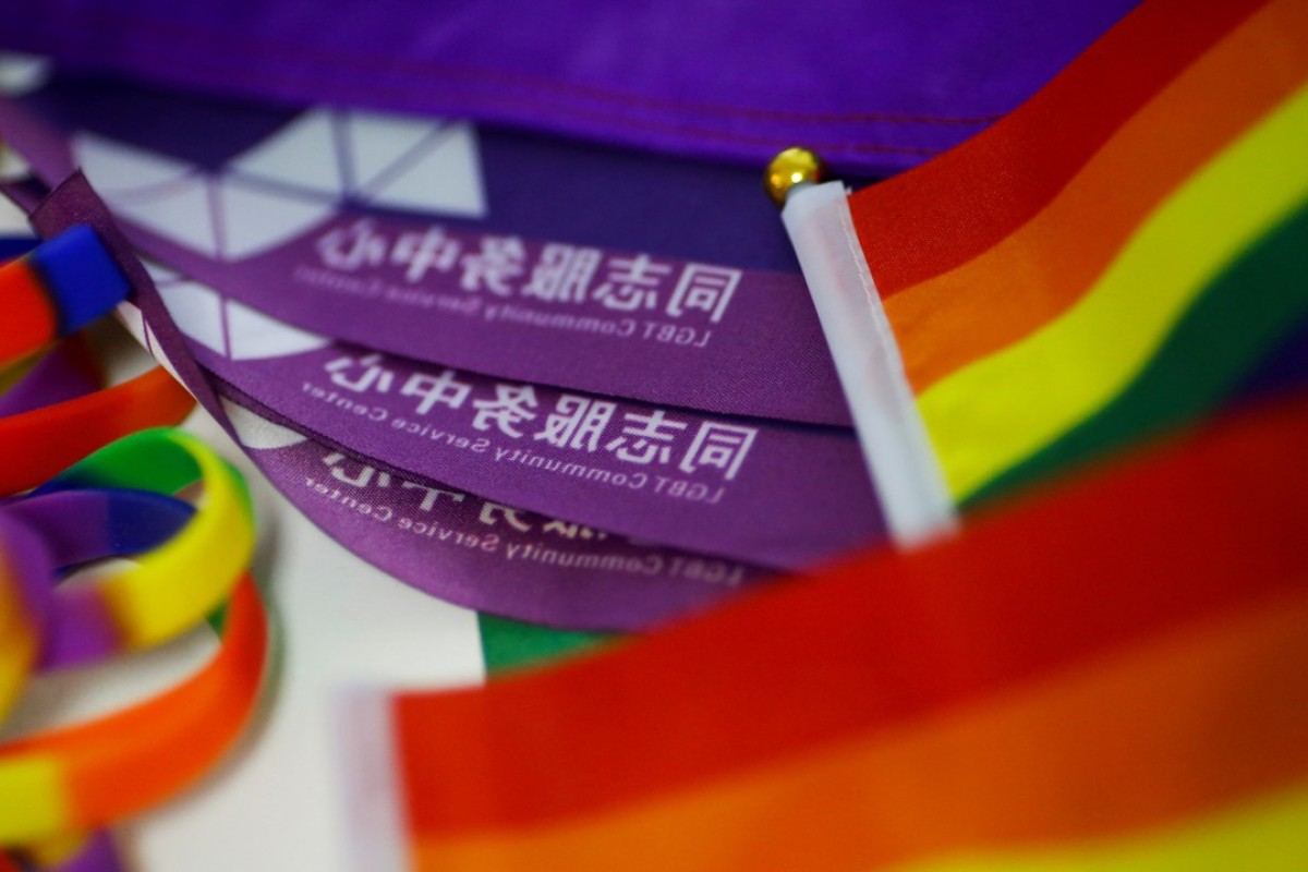 Activists in China this week rallied to push for same-sex marriage. Photo: Reuters