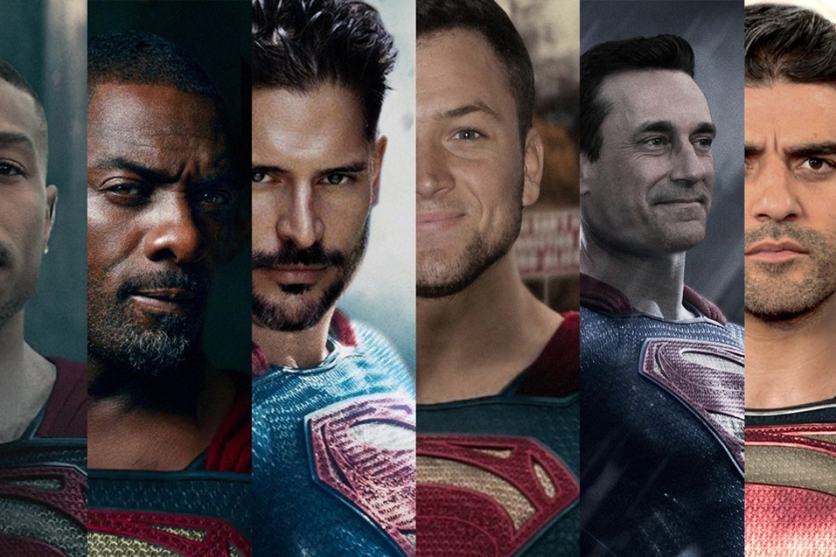 Could one of these six actors – (from left) Michael B. Jordan, Idris Elba, Joe Manganiello, Taron Egerton, Jon Hamm and Oscar Isaac – don Superman's red cape if rumours turn out to be true that actor Henry Cavill's days in the role are at an end. Photos: Warner Bros./Hypebeast