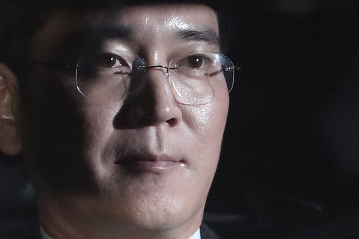 Samsung vice-chairman Lee Jae-yong sparked a trend after applying lip balm in court. Photo: EPA