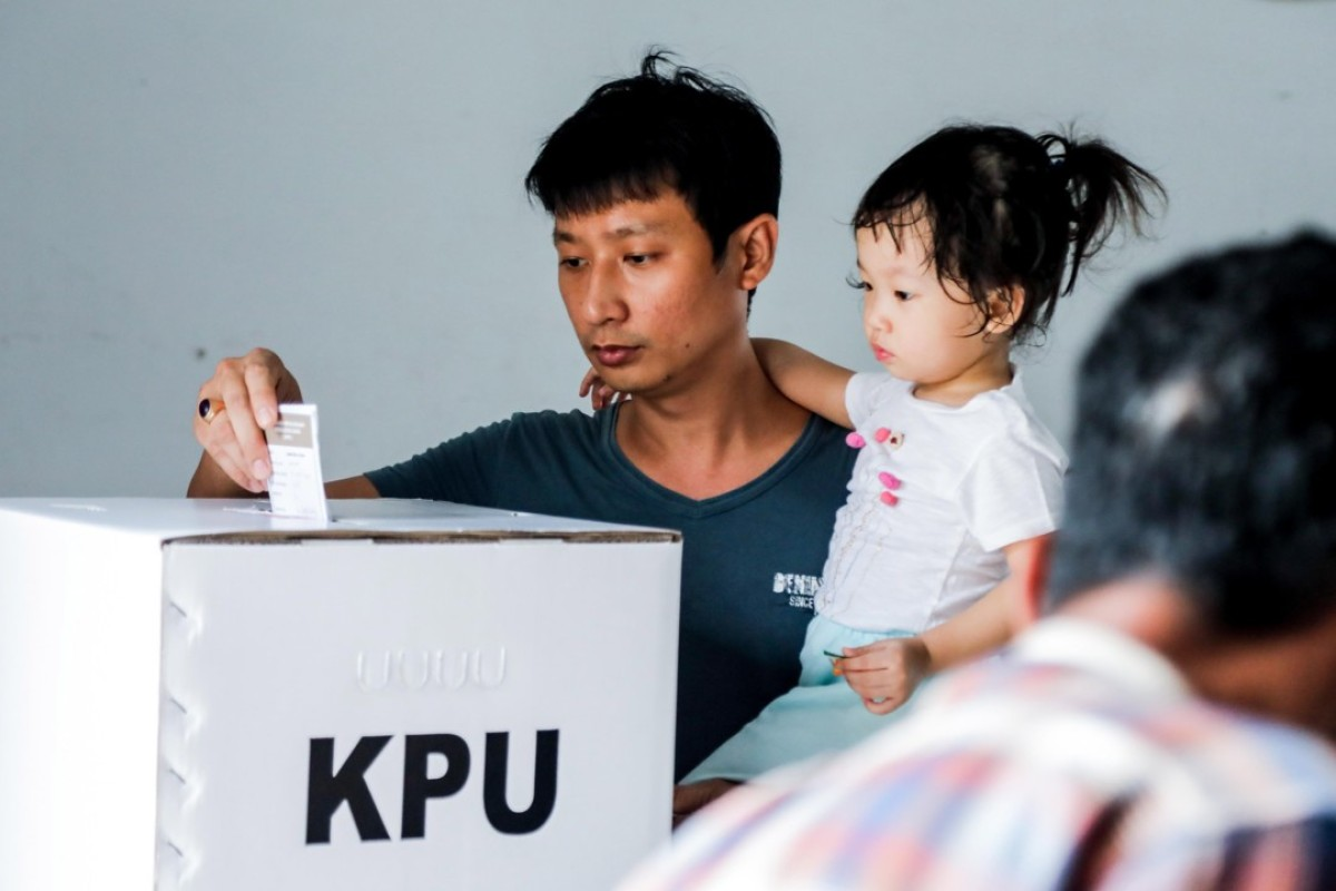 Voters in Indonesia are often swayed by candidates' fame or personality, despite past criminal offences. Photo: EPA
