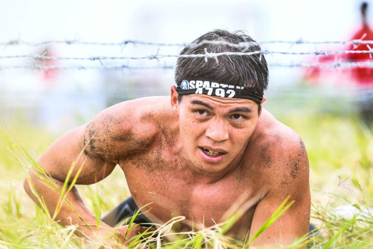 Bernard Lee is taking part in the Spartan World Championship 2018, representing Hong Kong. Photo: Spartan Race