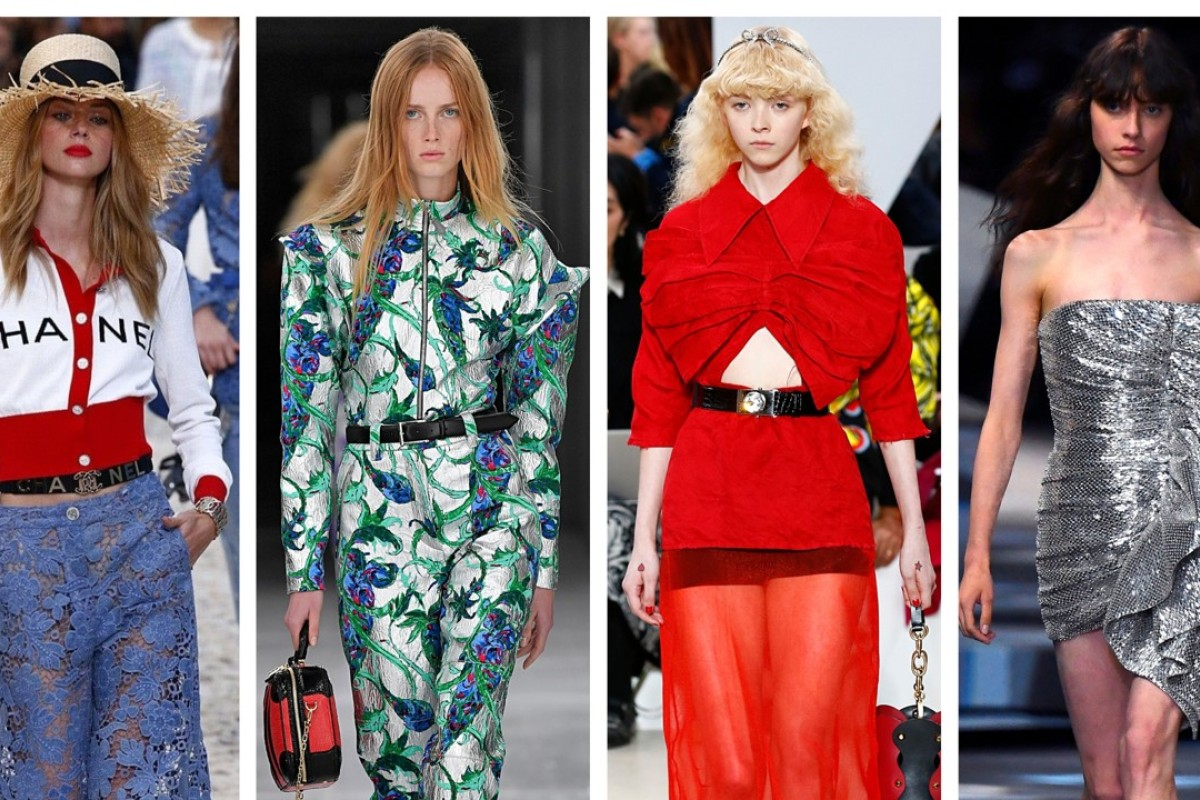 A Roundup Of Paris Fashion Week Spring/summer 2019's