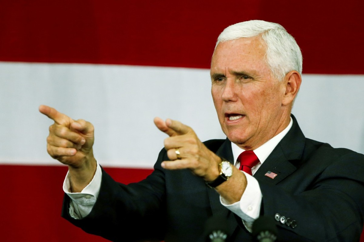 US vice-president Mike Pence has reset the course of US-China relations with his speech to the Hudson Institute. Photo: AP