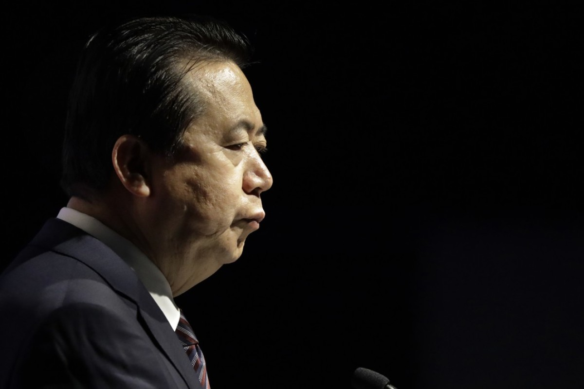 Interpol president Meng Hongwei was detained by Chinese authorities on September 25. Photo: AP