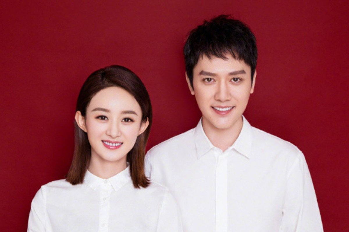 Chinese stars Zhao Liying and Feng Shaofeng have tied the knot. Photo: Zhao Liying Weibo