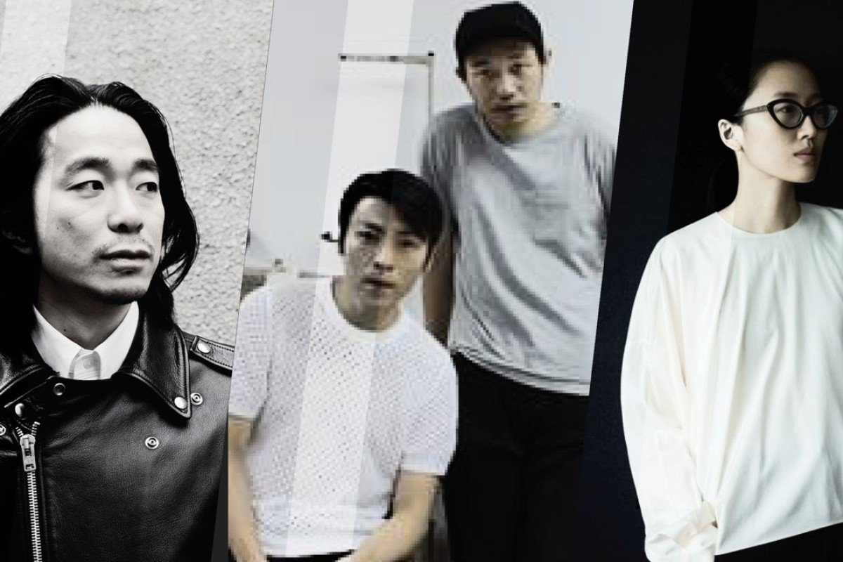 (From left) Design brands in the spotlight in Hong Kong – Hiromichi Ochiai of FACETASM, Julio Ng and Cyrus Wong of IDISM, and Min Liu, of Ms Min. Photo: Centrestage