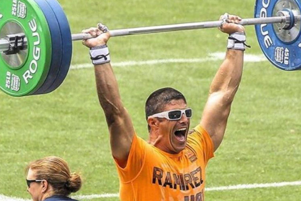 Shawn Ramirez competes at the CrossFit Games. Photos: CrossFit games
