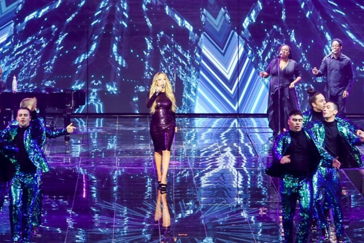 American singer Mariah Carey performs during Alibaba's Singles' Day gala in Shanghai – an event that marked the Chinese e-commerce conglomerate's 10th annual November 11 online shopping day. Photos: Alibaba