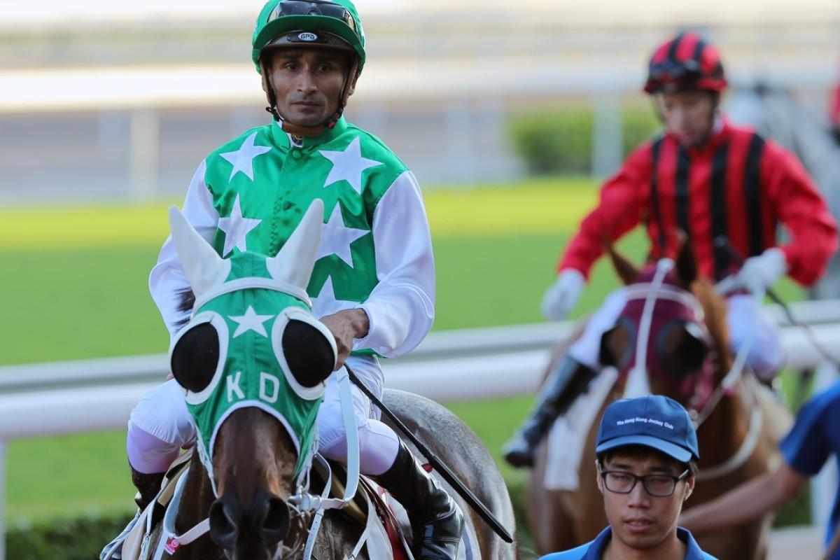 Karis Teetan is confident Pakistan Star will click this weekend. Photos: Kenneth Chan