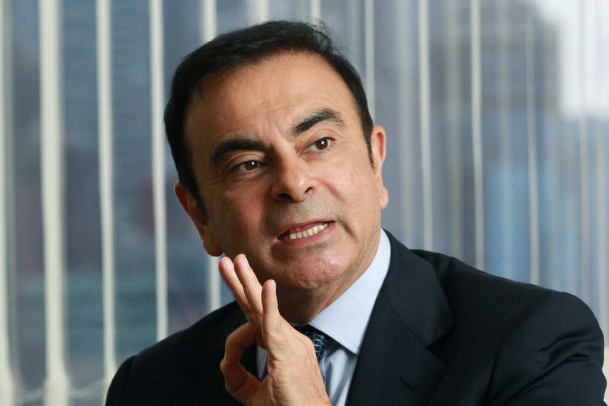 Carlos Ghosn, former CEO of Nissan, pictured in 2012.