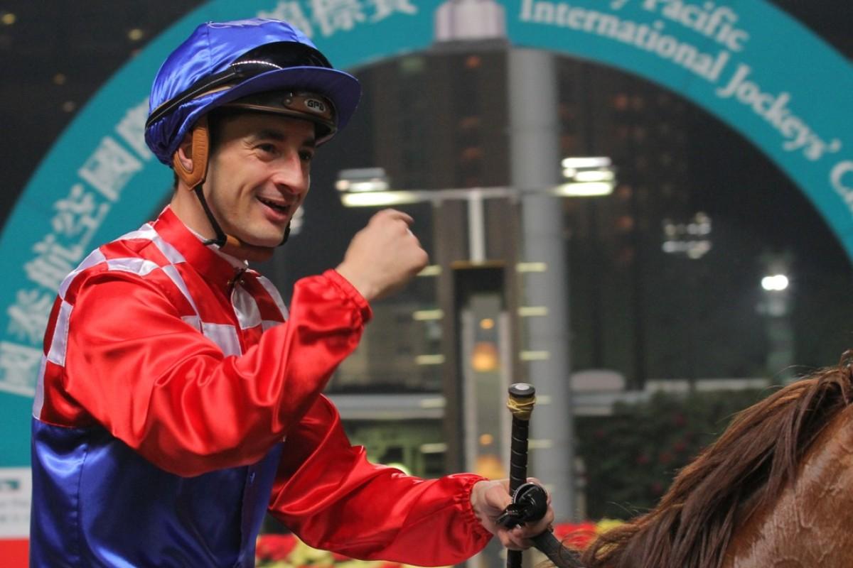 Jockey Christophe Lemaire. Photos: Kenneth Chan