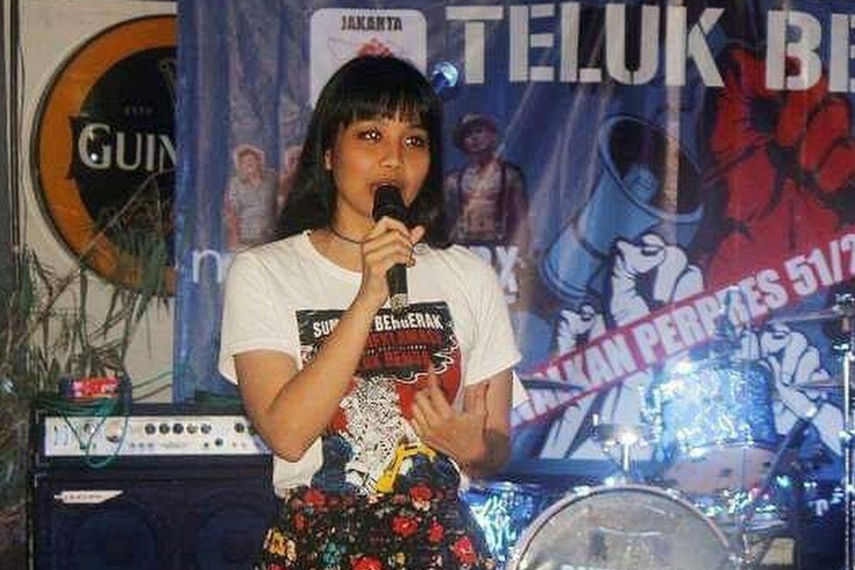 Saras Dewi is among the growing number of young women stepping up and speaking out against gender-based violence in Indonesia. Photo: Saras Dewi