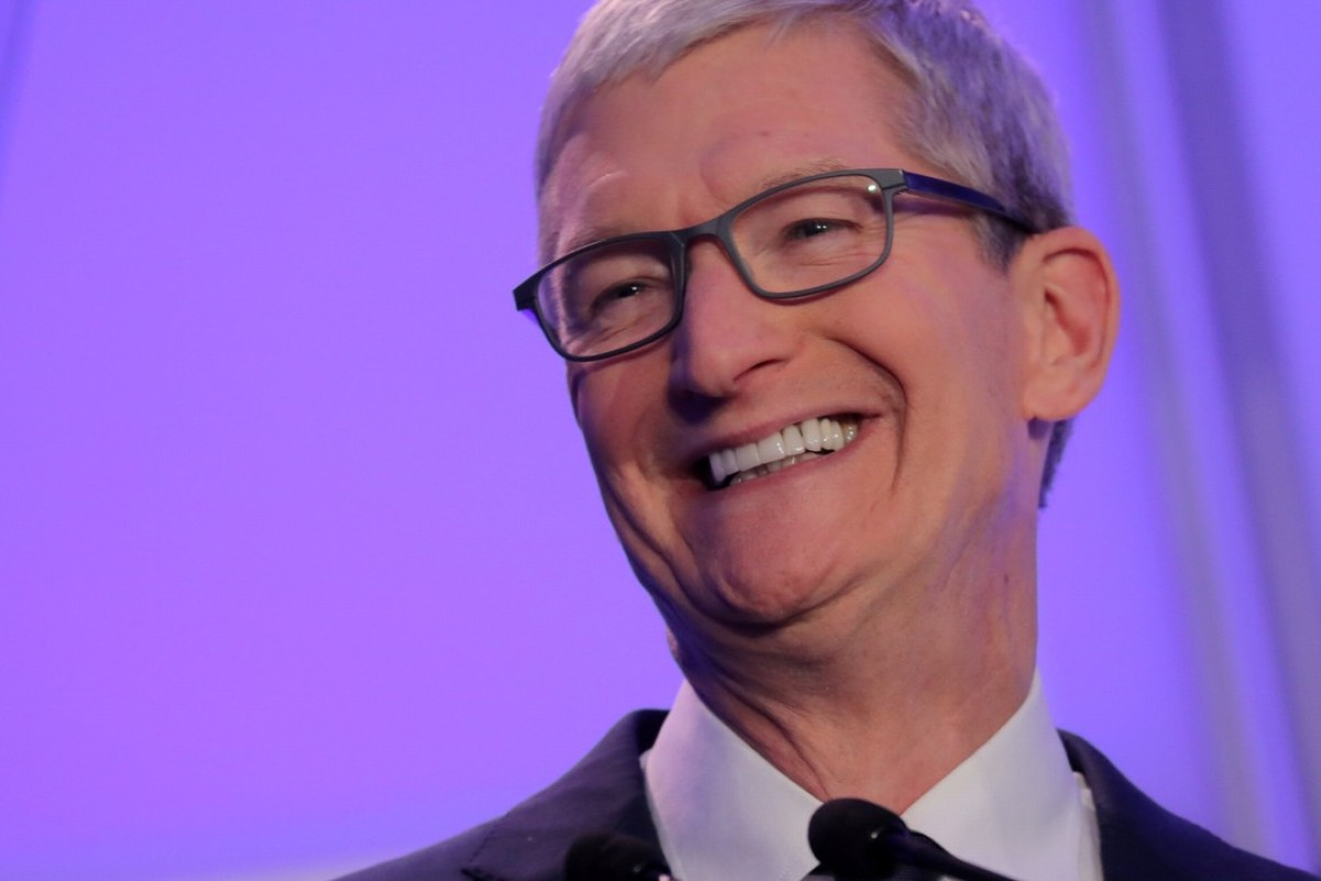 Apple CEO Tim Cook is modest about his personal spending and keen for his technology company to support numerous philanthropic efforts. Photo: Reuters