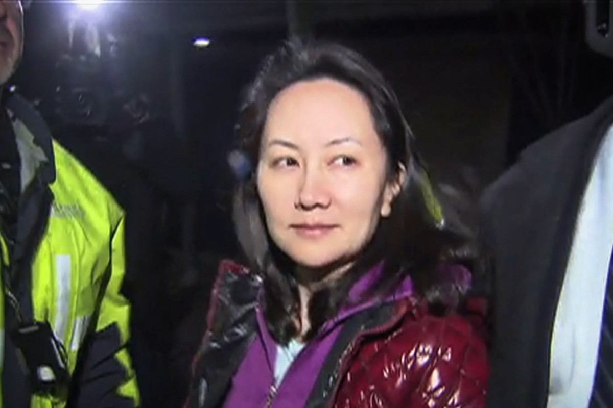 Huawei Chief Financial Officer Meng Wanzhou exits court following a bail hearing in Vancouver on December 11. Photo: AFP