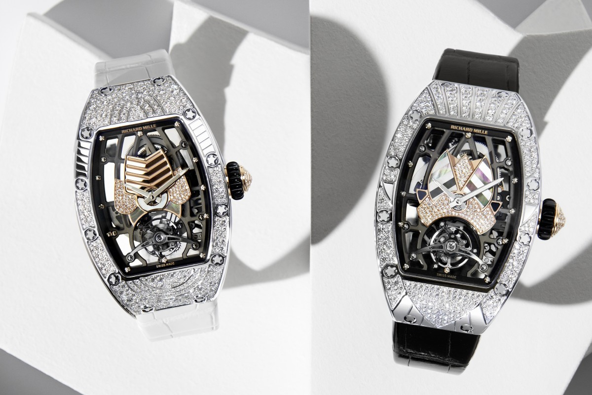 Richard Mille created 10 different variations of its art deco-inspired ladies' timepiece, the RM 71-01 Automatic Tourbillon Talisman. PhotoS: Manon Wertenbroek/Arnaud Le Brazidec